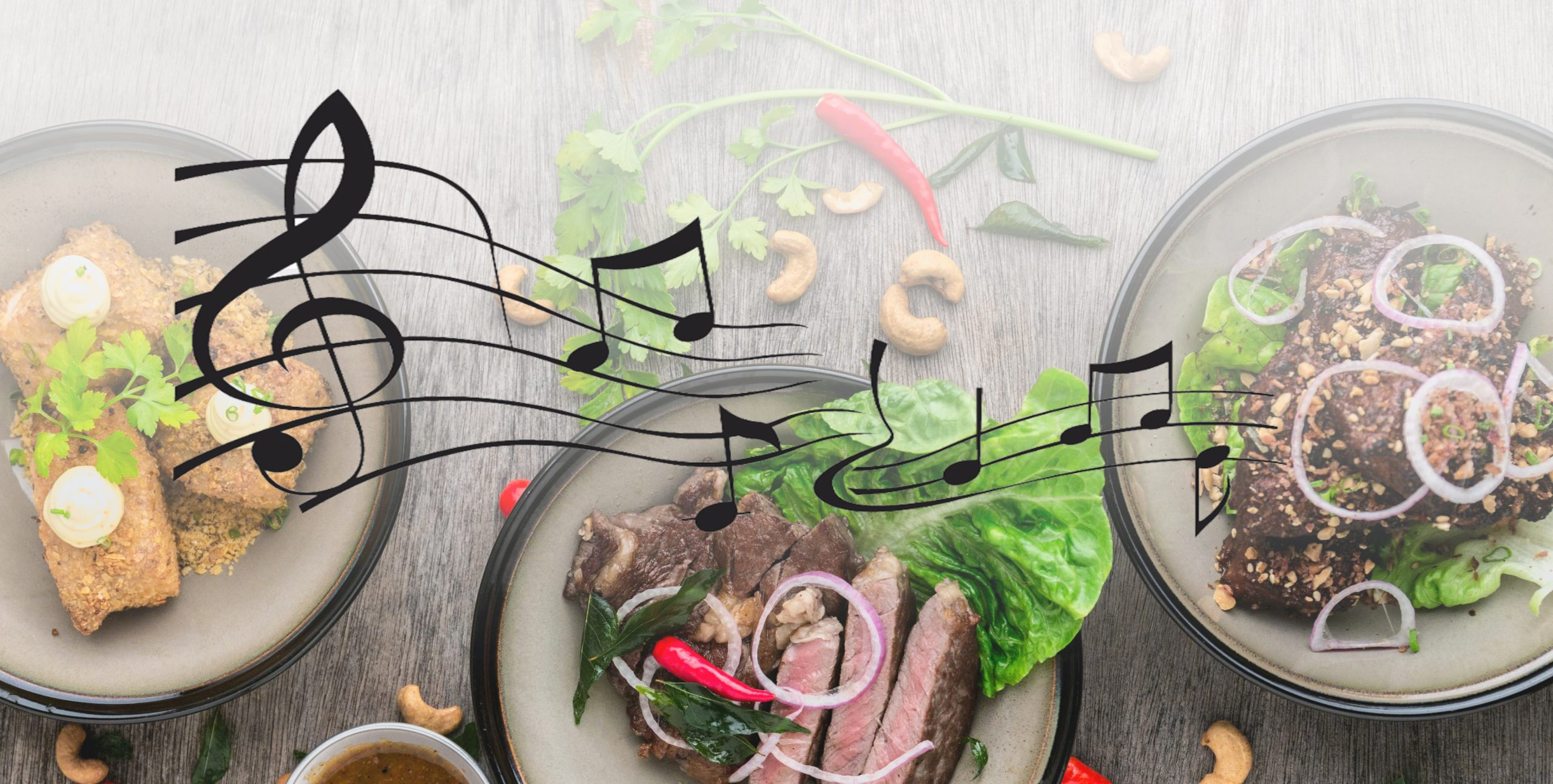 Can music make our food taste better?